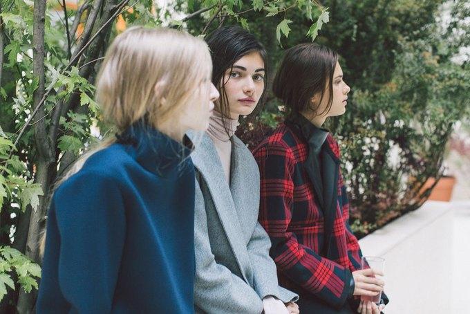 Объемные пальто и клетка в осеннем лукбуке Zara. Изображение № 24.