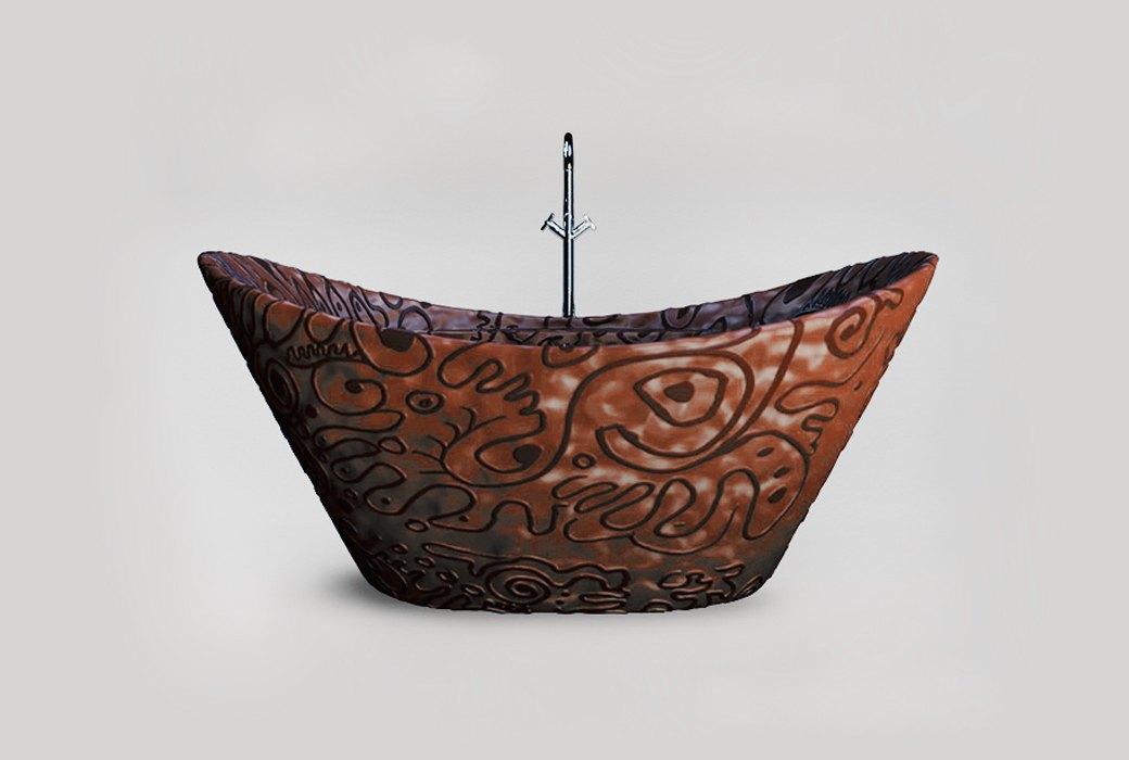 Шоколадная ванна  Maderno Sweet. Изображение № 1.