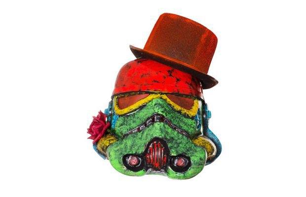 В Лондоне открылась выставка арт-шлемов штурмовиков. Изображение № 7.