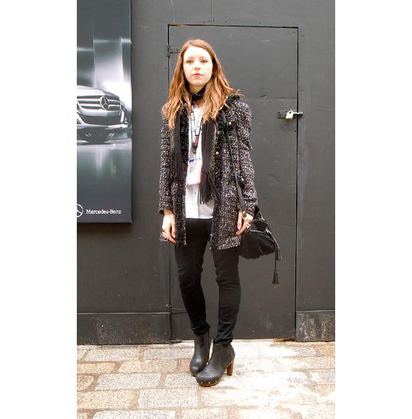 London Fashion Week: день первый — луки. Изображение № 11.