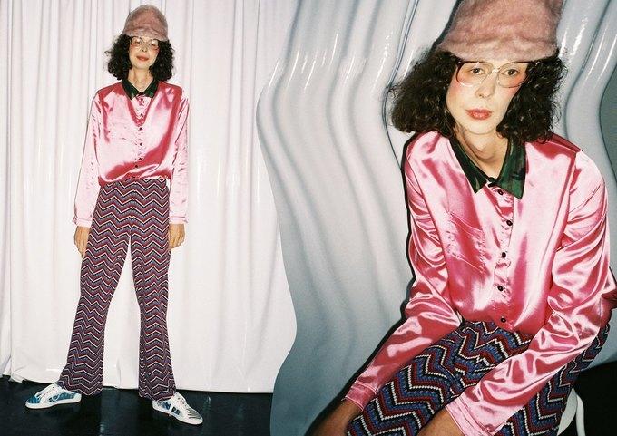 Металлик и питон в новом лукбуке LOH apparel. Изображение № 1.