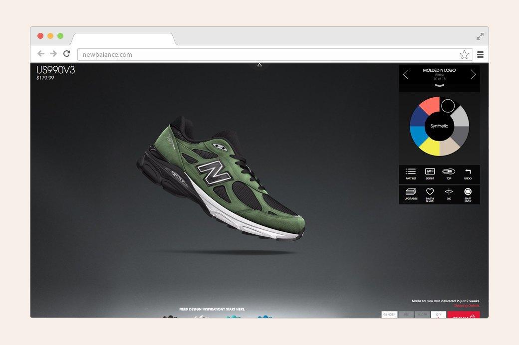 Дизайнеры тестируют конструкторы кроссовок. Изображение № 5.