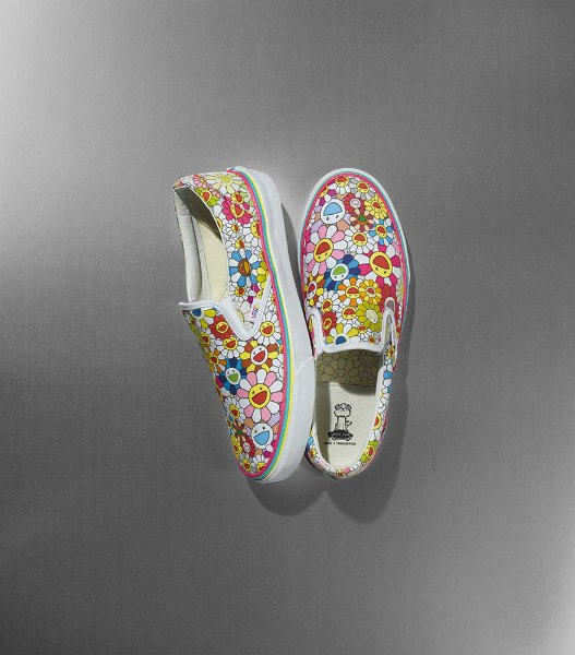 Художник Такаси Мураками создал коллекцию для Vans. Изображение № 3.