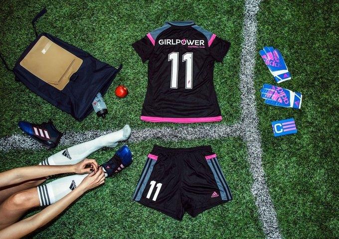 adidas разработали форму для женского футбольного клуба GirlPower. Изображение № 1.