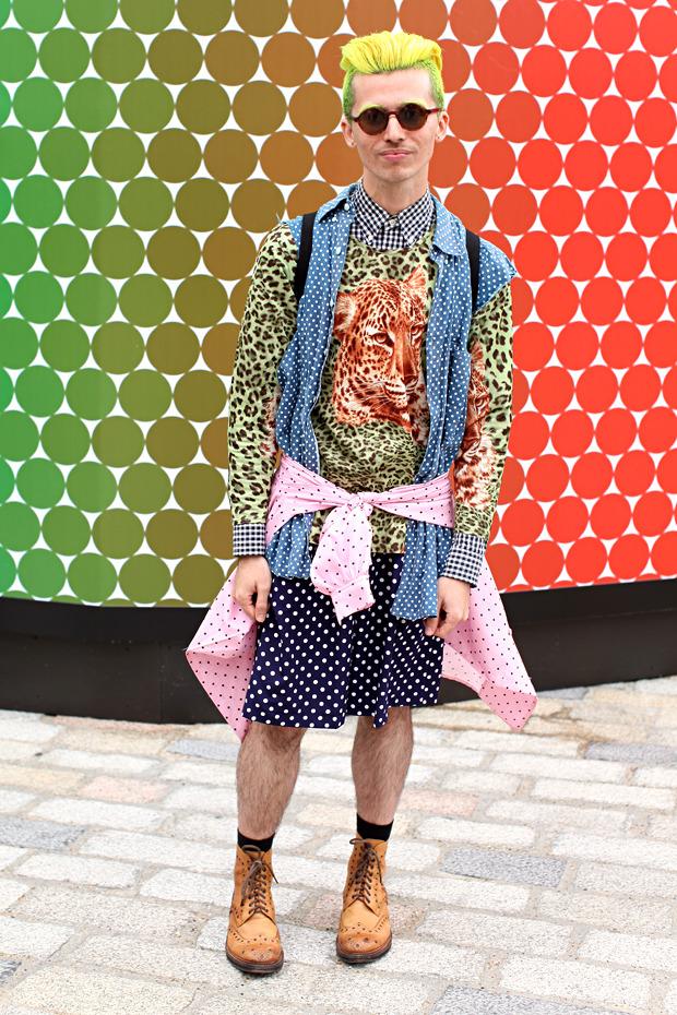 Streetstyle: Неделя моды в Лондоне, часть 1. Изображение № 18.