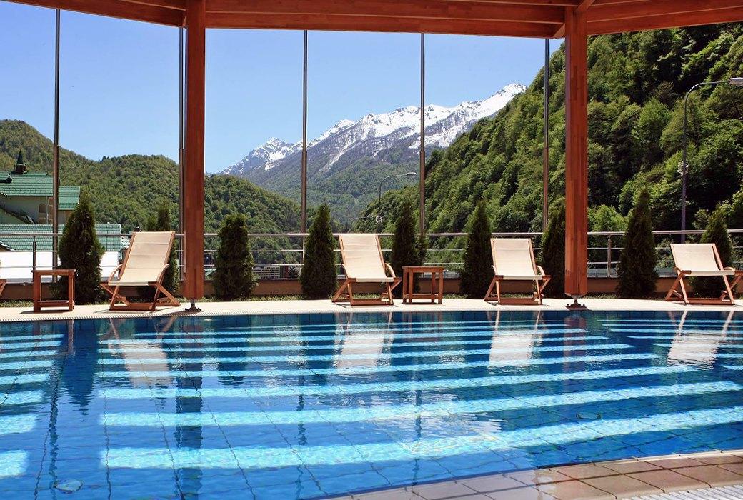 Спа отель в горах россия