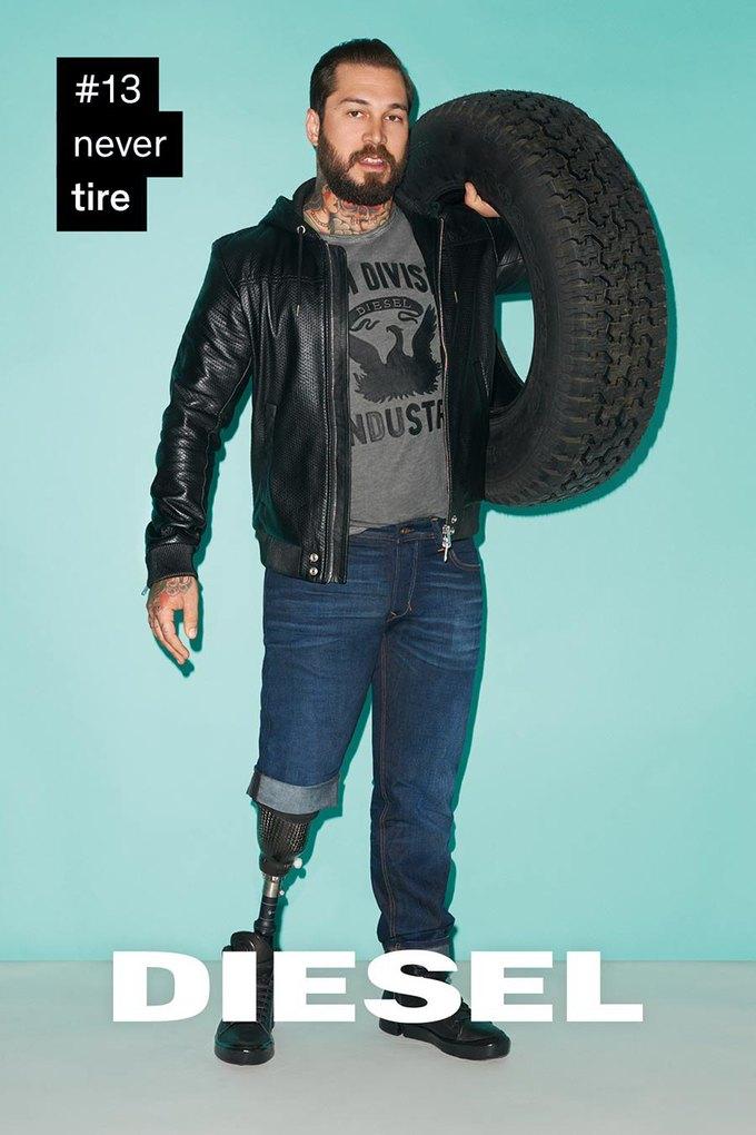 Терри Ричардсон снял «вдохновляющую» кампанию для Diesel. Изображение № 13.