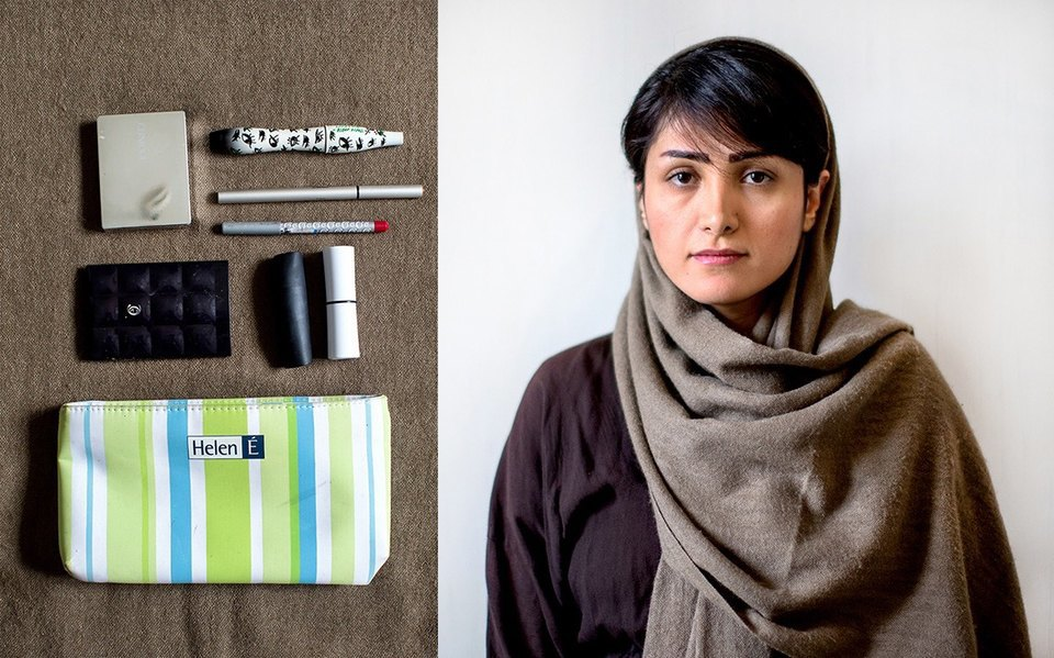 «Иранский макияж»:  Как и чем красятся  восточные женщины. Изображение № 12.