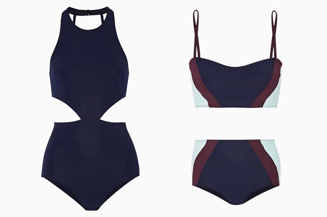 Flagpole Swim:  Лаконичные купальники  для спорта и отдыха. Изображение № 4.