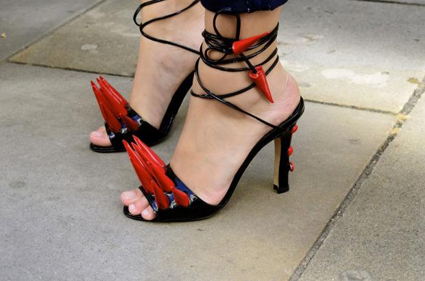 Streetstyle: Неделя моды в Лондоне, часть 2. Изображение № 21.