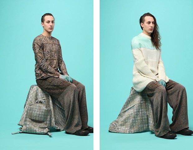Дизайнер Камилла Кунц:  Мужская одежда, силикон  и мраморный принт. Изображение № 4.