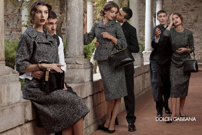 Dolce & Gabbana FW 2013 . Изображение № 2.