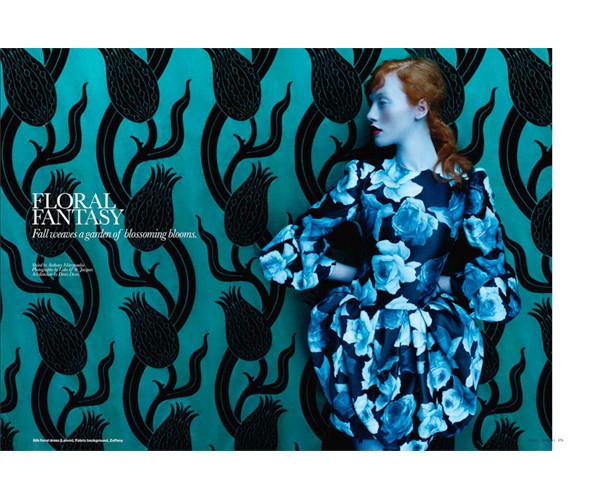 Фантастическая миссис Фокс: 8 моделей с рыжими волосами. Изображение № 37.
