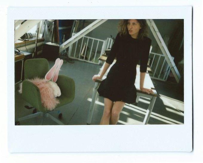Цветной мех и облегающие платья в коллекции Luda Nikishina. Изображение № 2.