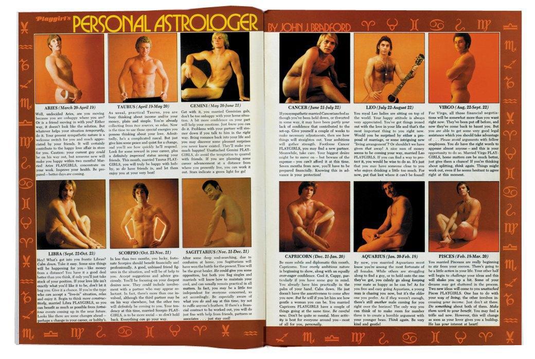 Разворот журнала Playgirl  за 1973 год. Изображение № 13.