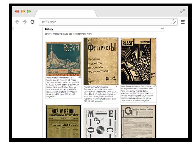 В закладки: Архив журналов об искусстве начала XX века. Изображение № 1.