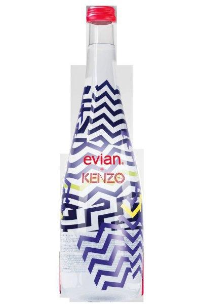 Kenzo разработали дизайн бутылки Evian. Изображение № 1.