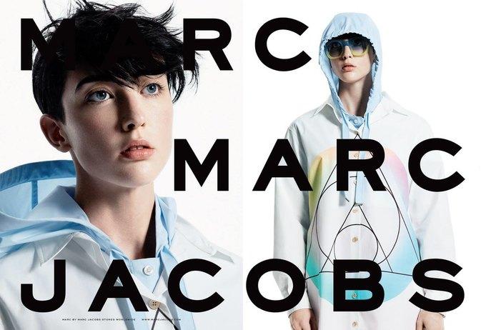 Marc by Marc Jacobs опять нашли моделей в соцсетях. Изображение № 4.