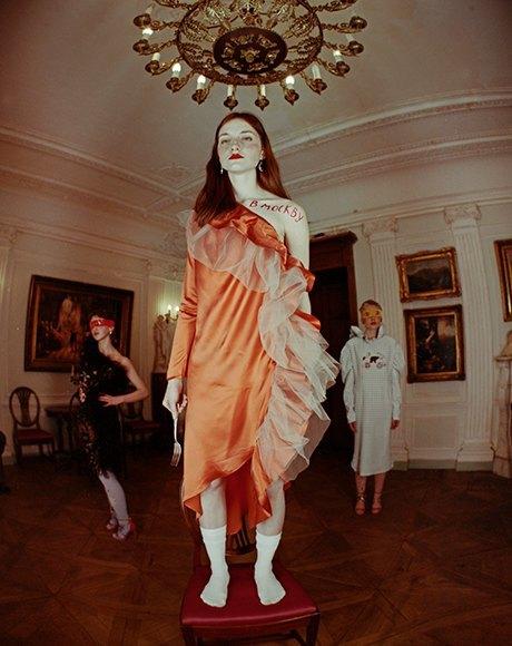 Съёмка Юлдус Бахтиозиной для Naya Rea по мотивам пьесы «Три сестры». Изображение № 20.