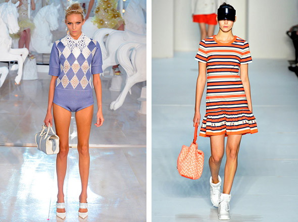 Louis Vuitton SS 2012 / Marc by Marc Jacobs SS 2012. Изображение № 77.