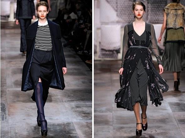 Изображение 4. Показы на Milan Fashion Week FW 2011: день 3.. Изображение № 6.