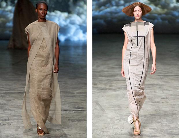 Неделя моды в Париже: Показы Balenciaga, Carven, Rick Owens, Nina Ricci, Lanvin. Изображение № 57.