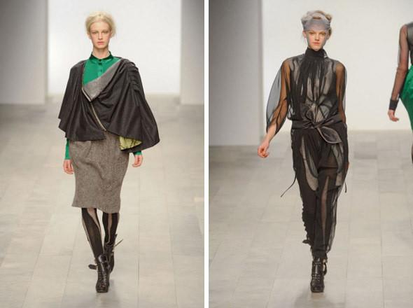 Изображение 7. Показы на London Fashion Week AW 2011: день 1.. Изображение № 4.