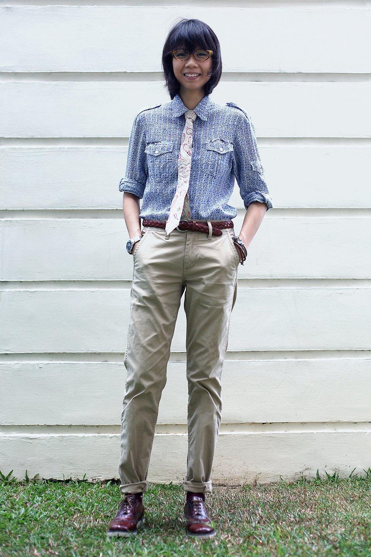 Гардероб: Джени Кай,  директор моды Esquire Singapore . Изображение № 5.