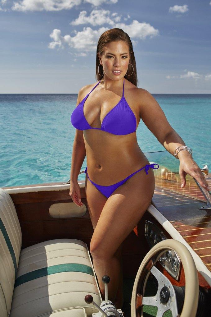 Эшли Грэхэм создала коллекцию купальников  для Swimsuits for All. Изображение № 3.