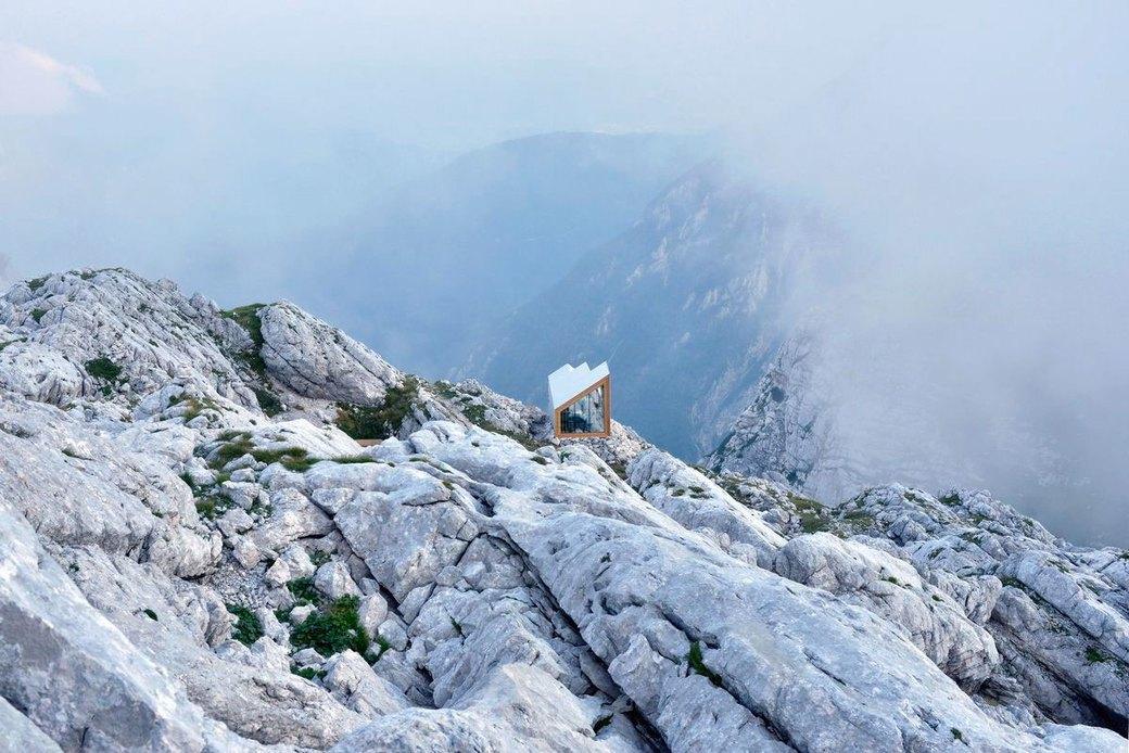 Горное убежище для хайкеров и альпинистов. Изображение № 3.