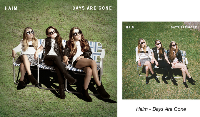 Девочки-музыканты воссоздали обложки знаменитых альбомов. Изображение № 3.