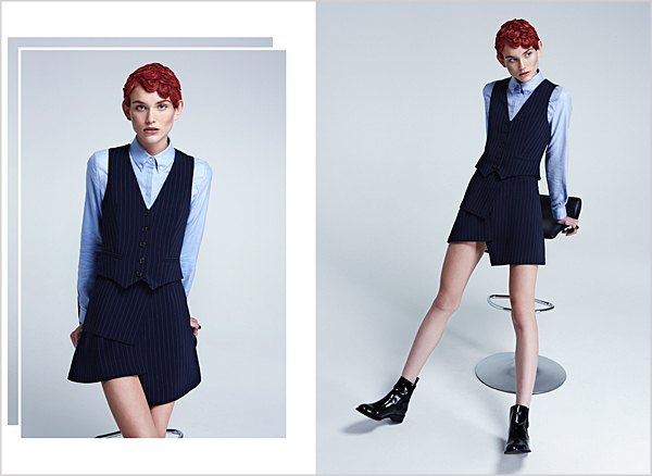 Костюмы в мужском стиле и пальто-халаты в лукбуке Oksana On & Trends Brands. Изображение № 3.