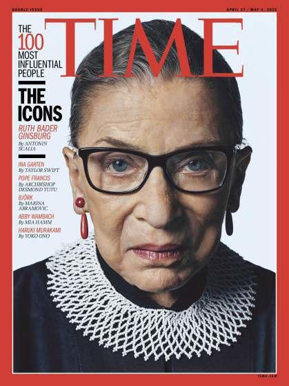 Член Верховного суда США Джоан Рут Бейдер Гинзбург. Изображение № 3.