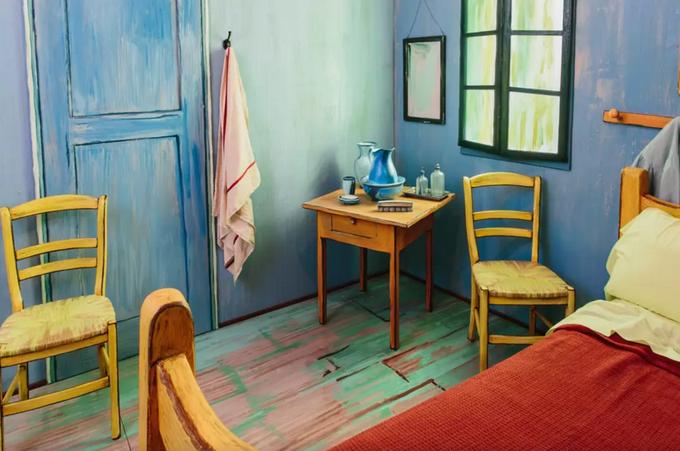 На Airbnb теперь можно арендовать копию комнаты Ван Гога. Изображение № 2.