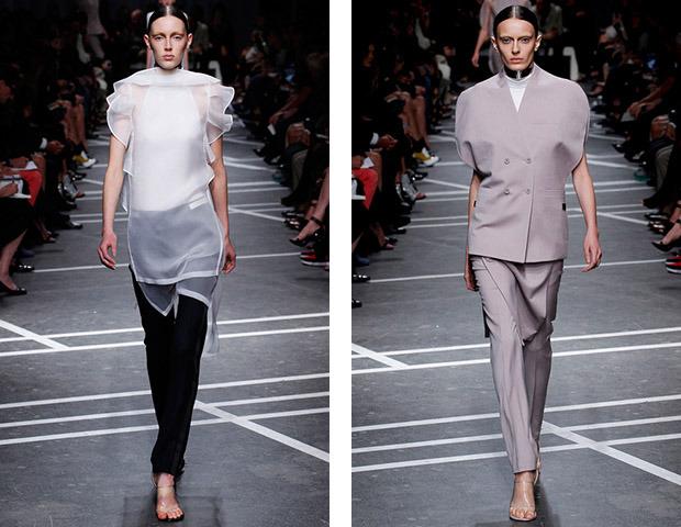 Парижская неделя моды: Показы Kenzo, Celine, Hermes, Givenchy, John Galliano. Изображение № 44.
