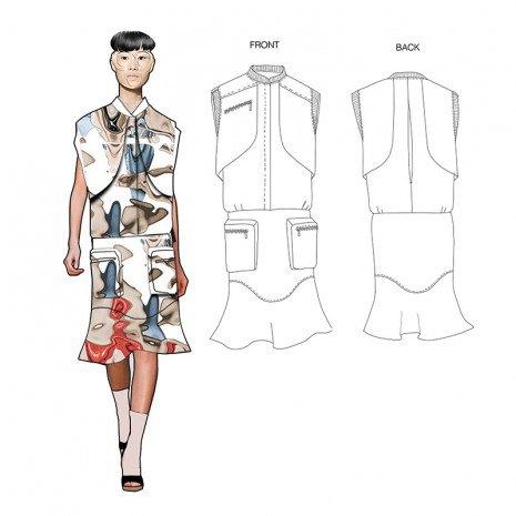 Эскизы коллекции участницы Fashion Scout Kiev Дины Линник . Изображение № 1.