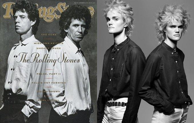 Мик Джаггер и Кит Ричардс, выпуск Rolling Stone от 7 сентября 1989 года. Изображение № 3.
