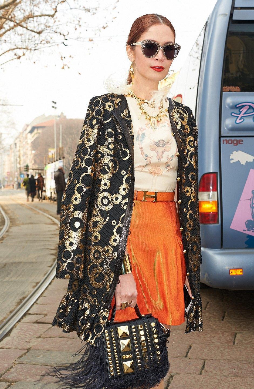 Стритстайл: Неделя моды в Милане,  часть II. Изображение № 31.