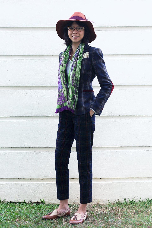 Гардероб: Джени Кай,  директор моды Esquire Singapore . Изображение № 33.