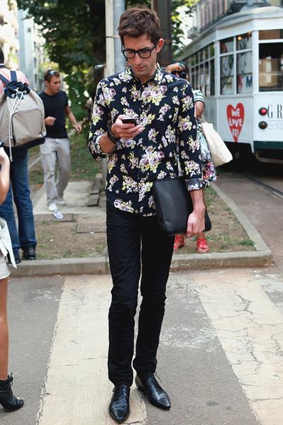 Milan Fashion Week: Уличный стиль, день 5. Изображение № 8.
