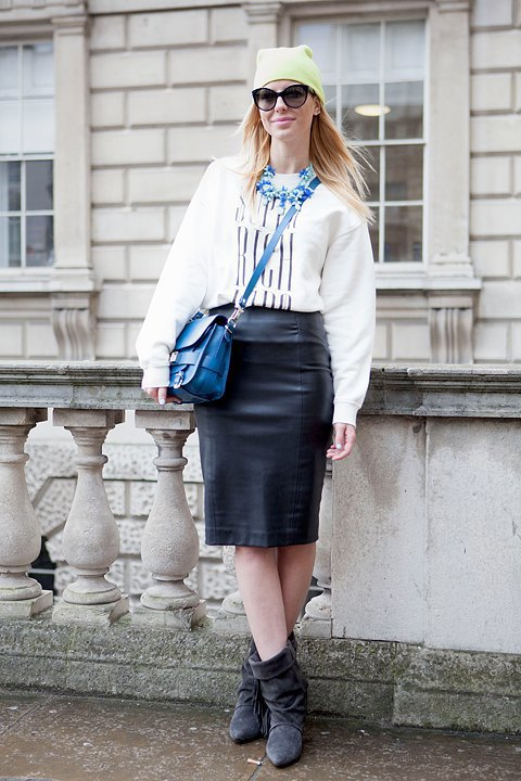 Стритстайл:  Что носят гости London Fashion Week. Изображение № 12.