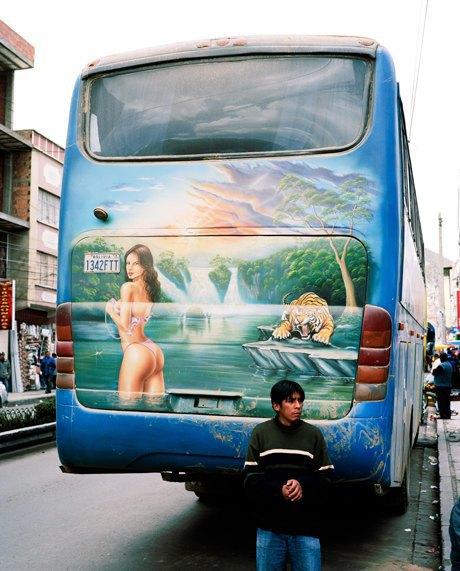 «Боливийские автобусы»:  Поп-культура на колесах. Изображение № 4.