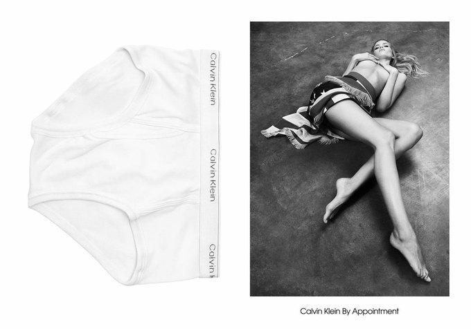Милли Бобби Браун снялась в кампании Calvin Klein. Изображение № 14.