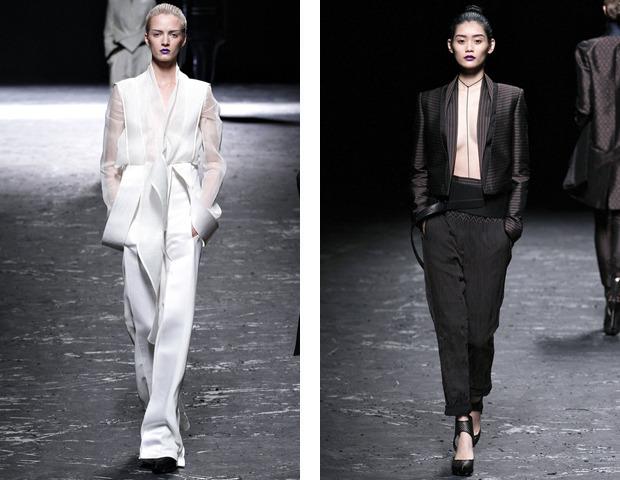Парижская неделя моды: показы Haider Ackermann, Viktor&Rolf, Vivienne Westwood, Junya Watanabe и CDG. Изображение № 12.
