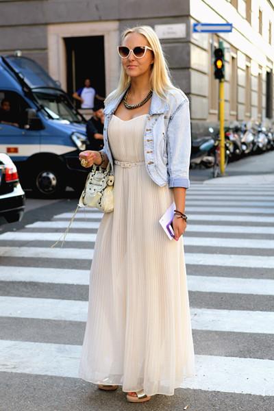 Milan Fashion Week: Уличный стиль, день 2. Изображение № 5.