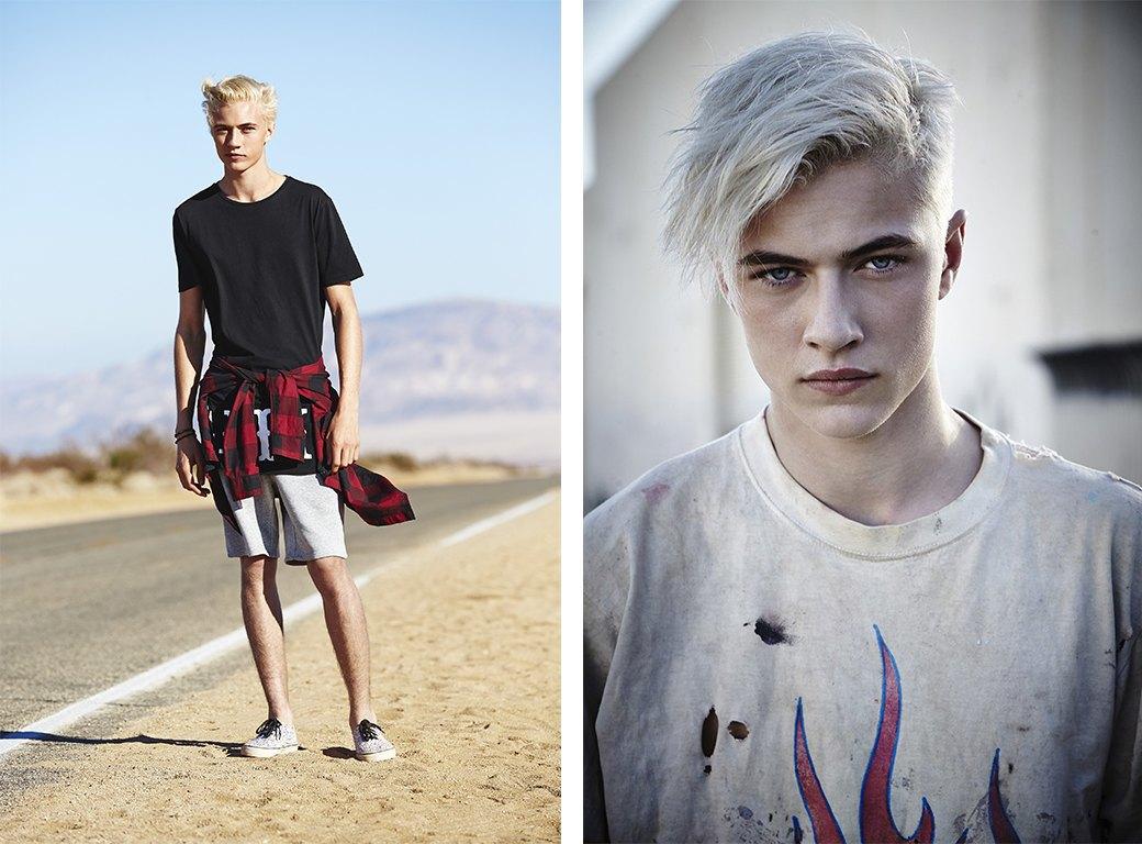 Новое имя:  17-летний музыкант и топ-модель Лаки Блю. Изображение № 5.