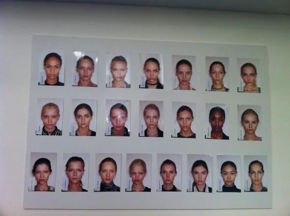 Модели показа Gucci, фото журнала i-D. Изображение № 1.