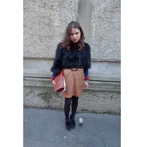 Изображение 3. Milan Fashion Week: день второй — луки.. Изображение № 12.