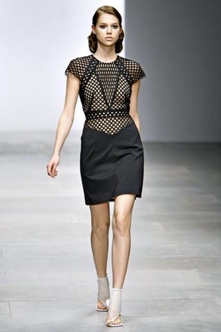 London Fashion Week: Topshop Unique, Acne и Marios Shwab. Изображение № 12.