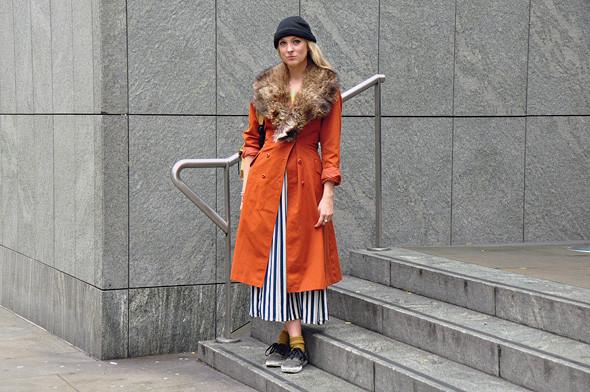 London Fashion Week: Уличный стиль, часть 3. Изображение № 10.
